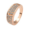Yoursfs@  Trendy Round Rings For Women Zinc Alloy Multicolor Crystal Wedding Engagement Ring Jewelry  R065 yoursfs trendy round rings for women zinc alloy multicolor crystal wedding engagement ring jewelry r065