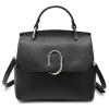 Сумки Svale в Европе и Соединенных Штатах Мода плеча сумка дамы Messenger случайные сумки 01-GM80370B черный фирму действующую в европе