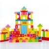 Троянская мудрость 100 Красочные алфавит блоки детские развивающие игрушки деревянные развивающие игрушки барабаны подарки развивающие деревянные игрушки кубики овощи