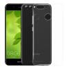 Yomo Huawei Нов 2 Плюс телефона оболочка силикагель тонких прозрачных защитного рукава полных Подшивать белые мягкие оболочки Освежающих