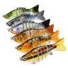 1PC Новые 7 секций Приманка для рыбалки 10 см / 3,94 -0,43 унции / 12,1 г Приманка для рыбалки для рыбалки 6 # Черный крючок для рыбалки приманка для рыбалки 10 см 4 0 55 унции 15 5 г приманка для рыбалки для рыбалки 6
