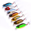 1PC 3D Eyes Hard Bait Minnow Fishing Lure 5.5cm-2.17 /8.26g-2.91oz Fatty Crankbait Приманки Яркий цвет Pesca Fishing Sackle 10pcs minnow lures 115mm 11 2g fishing lure bait saltwater trolling fishing plastic hard baits
