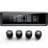 Давление в шинах JP703 монитор 360 дисплей солнечного времени внешней беспроводной температура в шинах давления в шинах установка сигнализации черного ярлыка популярные датчики давления в шинах