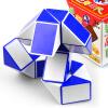все цены на Катрина волшебный куб футов Разнообразие волшебного раздел 24-футовая магия змеи растянуть декомпрессионные игрушки с детским образовательной структурой голубым учебником онлайн