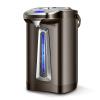 Современный (Хендэ) электрочайник безрезервуарное электрический термос бытовой электрический чайник чайник QC-KS3042 чайник электрический mystery mek 1614 серый