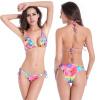 Новый бикини 2017 Sexy Swimwear Women Swimsuit Push Up Бразильский бикини Set Beachwear Plus Размер Купальные костюмы