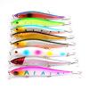 1PC ловушки рыболовства верхнего качества 8 цветов рыболовные снасти 4.7 -11.93cm / 13.07g-0.47oz рыболовная приманка 3 крюк 6 # Treble hook