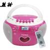 Panda (PANDA) CD-350 магнитофоны пренатальной машина CD DVD видео машины магнитофон U диск плеер стерео (красный)