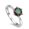 yoursfs ® 18k rose позолоченные 0.5ct искусственной бриллиантовое кольцо использовать австрийский кристалл обручальное кольцо обручальное кольцо эстет золотое обручальное кольцо с бриллиантом est01о620077b2 18