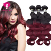 Amazing Star Virgin Индийские волосы Body Wave Burgundy Weave 3 Bundle предлагает T1B / 99j Red Human Hair Extensions utterly amazing science