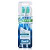 OralB (OralB) камеди колледжа медсестер эффективной глубокой очистки зубной щеткой Duo Pack (импорт Ирландия) oralb oralb включените массаж десен колледжа медсестер зубные щетки импорт ирландии
