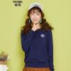 Г-жа Semir Semir Knit (Semir) шею пуловеры письмо свит��р знак прямой красный тон белый свитер 14316070013 S
