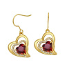 Yoursfs@ Romantic Heart of Shape Promise Dangle Earrings For Women Vintage Earring Jewelry Christmas Gifts Online Shopping India салфетки heart of india 200 5
