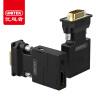 (UNITEK) vga to hdmi конвертер HD видео конвертер кабель адаптер аудио порт ноутбук подключение телевизор проектор Y-HD05001-BK huayuan видео аудио конвертер аудио ps2 hdmi адаптер