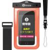 Водонепроницаемый чехол для смартфона BIAZE, оранжевый купить чехол для смартфона лджи 880