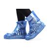 Потяните назад сапоги дождя наборы мужчин и женщин взрослый дождь водонепроницаемый нескользящий набивной чехол для обуви HXL227 кофе 3XL потяните назад сапоги дождя для мужчин и