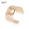 Shes Sin югу ювелирные изделия из розового золота браслет насекомым Широкий стальной браслет золото