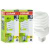 OSRAM OSRAM значение спиральная спираль энергосберегающая лампа 23W теплый белый E27 два загруженных dongri уф лампа спиральная dr 1201