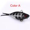 1PC Soft Fishing Lure 6.8cm-2.68 /9.36g-0.33oz Мягкая свинцовая приманка 8 # High Carbon Hook 6 Color Silicon Wobblers Fishi