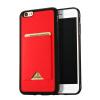 GANGXUN iPhone 6 6S Plus Case Slim Anti-Slippery Слот для карты Противоударная крышка для iPhone 6 6S Plus iface mall for iphone 6 plus 6s plus glossy pc non slip tpu shell case black