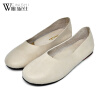 Женская обувь для одной обуви женская обувь flattie кожаная обувь asakuchi одиночная обувь обувь