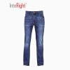 INTERIGHT Тонкая версия мужских джинсов высокий эластичный светло-синий L код