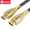 BIAZE HDMI цифрового телевидения высокой четкости приставки линия проектор компьютер сетевой кабель 3 м пеньки поддержка 4k 3D функция приставки для цифрового телевидения в таганроге