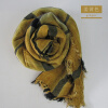 Genuine Orangefox   Cashmere Vintage And Dirty Scarf down and dirty