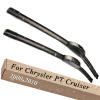 Wiper Blades for Chrysler PT Cruiser 21&21 Hook Arms 2000 2001 2002 2003 2004 2005 2006 2007 2008 2009 2010
