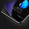 【Трехсекционный 3D-синей полноэкранный экран】 Smorss Apple 7Plus закаленная пленка полноэкранное покрытие iPhone7Plus закаленная пленка 3D углеродное волокно мягкая сторона HD мобильный телефон защитная пленка черный пленка