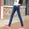 Закон Kun корейской версии случайных мужских джинсов джинсовые брюки ноги голубые QT1012-2036 28