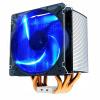 Разгон 3 (PCCOOLER) замороженного радиатора процессора S126 (вентилятор синего света 12CM / смарт-микрофон / многоплатформенная / 5 тепловая труба / с силиконовой смазкой)
