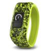 Джия Минг (GARMIN) vivofit мл. Детский смарт-часы спорт браслет цель развивать активность взаимодействия здоровый родитель-ребенок отслеживания камуфляж зеленый garmin vivofit 2