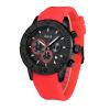 BHOLI SI 8210 Модный спортивный хронограф Кварцевые часы с датой Черный силиконовый ремешок для часов для мужчин 8210 8210yrz sop8