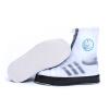 Потяните назад сапоги дождя для мужчин и женщин взрослый дождь водонепроницаемый нескользящий обивка обуви HXL228 черный M потяните назад   воин пары моделей
