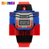 SKMEI Kids LED Digital Children Watch Cartoon Sports Watches Relogio Robot Transformation Toys Boys Wristwatches 1095 skmei new limited edition cartoon kids watches boys girls digital new design wristwatches fashion creative children s watch 1239