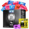 Mingliu презерватив плотное прилегание 78 шт. подарить вибрационное яйцо и смазочное средство и футляр для пениса mingliu презерватив 30 шт маленький по размеру секс игрушки для взрослых
