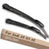 Wiper Blades for Audi A8 D3 4E 24&23 Fit Slider Arms 2003 2004 2005 2006 2007 2008 2009 накладки на пороги audi a8 d3 2002 2009