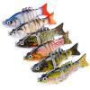 1pc Приманка для купания 6 Цветные рыболовные приманки Рыболовные снасти 8.5cm-3.35 /10.8g-0.38oz Приманка для рыбалки приманка для рыбалки 10 см 4 0 55 унции 15 5 г приманка для рыбалки для рыбалки 6