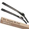 Wiper Blades for Toyota Hi-Lux 21&19 Fit Hook Arms 2005 2006 2007 2008 2009 2010 2011 2012 2013 2014 2015 багажник на крышу lux kia spectra 2005 2010 1 2м прямоугольные дуги 692995