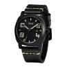 BOLISI 8212 Мужская повседневная дата Кварцевые часы с кожаной сумкой
