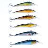 1PC Рыбалка Приманка Minnow 3 -7.6cm Рыбалка Приманка 3.2g Crankbait 6 Цвет Minnow Приманки 8 # Крюк Рыбалка Снасти Рыбалка Приманка