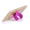 Smorss [подарки] U-образный держатель телефона держатель телефона силиконовая паста невидимая волшебная бабочка кронштейн (ПОДАРКИ цвета случайная) подарки