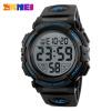 SKMEI New Sports Watches Men Outdoor Fashion Digital Watch Multifunction 50M Waterproof Wristwatches Man Relogio Masculino 1258