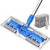 Yi Zi сплав плоских швабр деревянного пола швабра вращающейся швабра инструмент для очистки бытовой заменить две ткани YZ-PB01