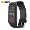 SKMEI L38I Men Women Heart Rate Smart Wristband Color Screen Pedometer Calorie Sports Watches iOS Android Digital Wristwatches bozlun sports smart watches heart rate lcd color screen men multifunction digital wristwatches calories step counter watch l42a