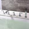 HIDEEP Смеситель для ванных комнат Смеситель для ванны для ванных комнат с холодной и горячей водой