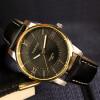 Роскошные золотые мужские часы 2017 Лучшие знаменитые бренды Casual Quartz Watch YAZOLE Высокое качество Мужские золотые наручные часы