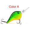 Crank Fishing Lure 10.11g-0.36oz / 9.5cm-3.74 Пластмассовая жесткая бас-батская соляная рыбалка Воблер