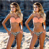 CANIS @ Women Bikini Set Купальник Пляжная одежда Купальники отжимают монокини Бюстгальтер Купание пляжная одежда